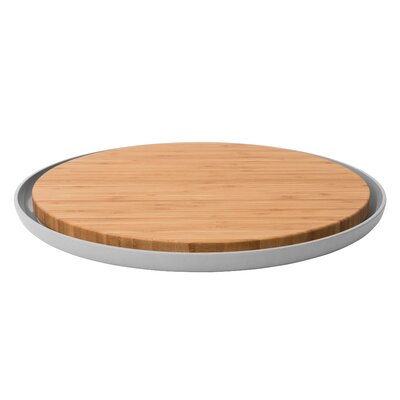 Leo Bamboo Cutting Board with Plate