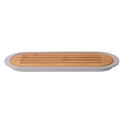 Baguette Bamboo Cutting Board with Tray
