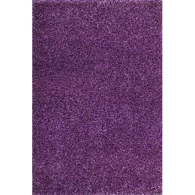 GP Rugs Flamenco Hand-Woven Purple Area Rug