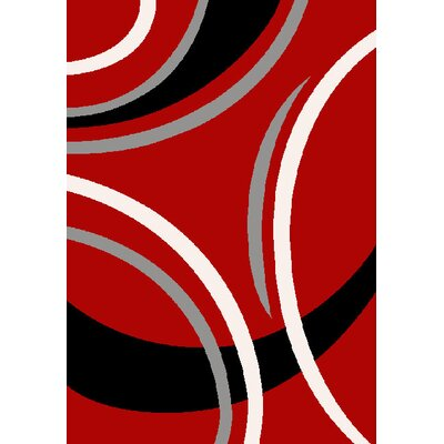 GP Rugs Havanna Red Area Rug
