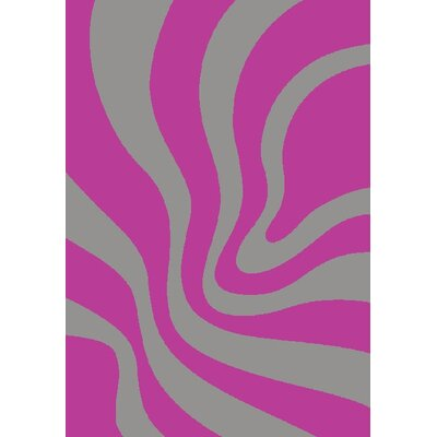GP Rugs Havanna Hand Woven Lilac Area Rug
