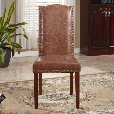Elegant Parsons Chair Color: Espresso