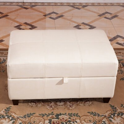 Royal Comfort Upholstered Storage Bench Upholstery Color: White