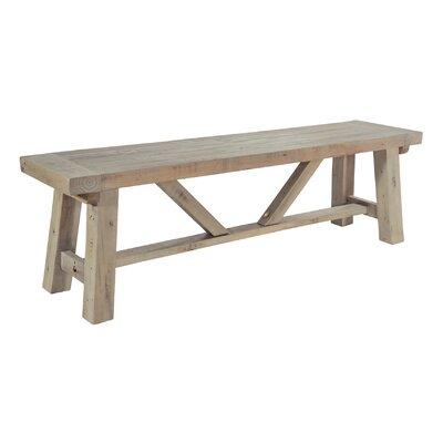 Alpen Home Bearpaw Wood Kitchen Bench