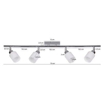 Bel Étage Volles Schienenbeleuchtungsset 4-flammig