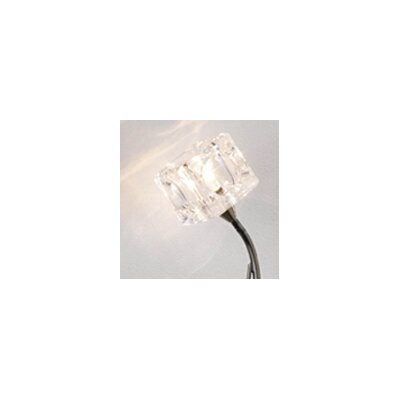 Dar Lighting Glass Square Wall Sconce Shade