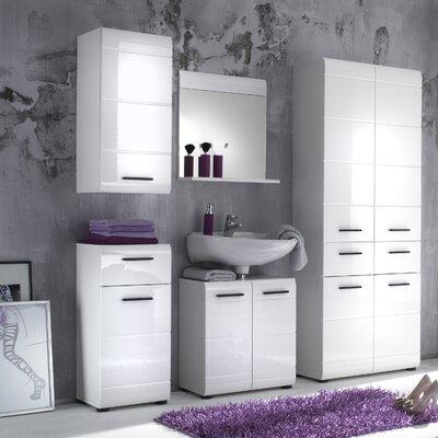 Bel Étage 5-tlg. Badezimmer-Set Reflect