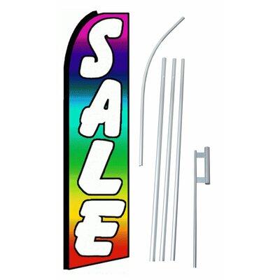 Sale Swooper Flag and Flagpole Set