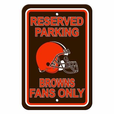 NFL Parking Sign NFL: Cleveland Browns