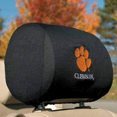 NCAA Car Head Rest Covers NCAA: Clemson Tigers