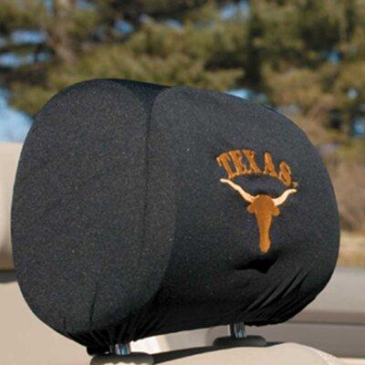 NCAA Car Head Rest Covers NCAA: Texas Longhorns