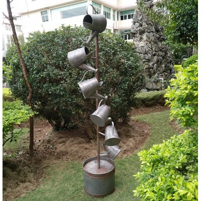 Metal Watering Cans Fountain