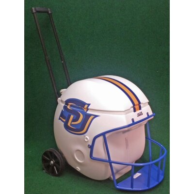 40 Qt. Football Helmet Ice Chest Rolling Cooler NCAA Team: Southern