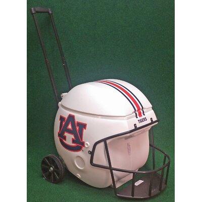 40 Qt. Football Helmet Ice Chest Rolling Cooler NCAA Team: Auburn