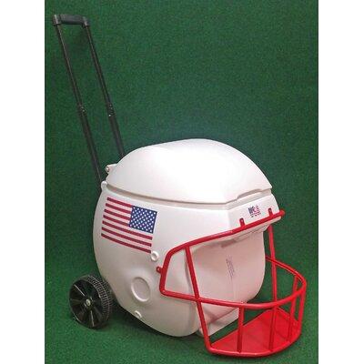 40 Qt. Football Helmet Ice Chest Rolling Cooler NCAA Team: USA