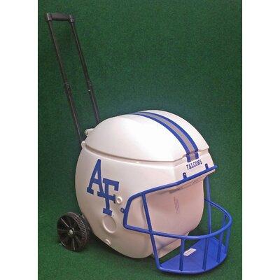 40 Qt. Air Force Academy Football Helmet Rolling Cooler