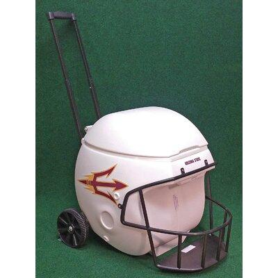 40 Qt. Arizona State Sun Devils Football Helmet Rolling Cooler