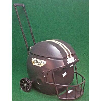 40 Qt. Southern Miss Football Helmet Rolling Cooler