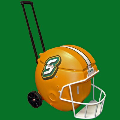 40 Qt. Football Helmet Ice Chest Rolling Cooler NCAA Team: Southeastern Louisiana