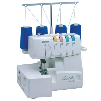 3 or 4 Thread Serger with Easy Lay In