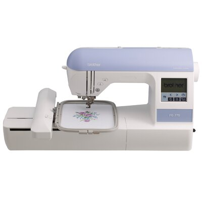 USB Port Embroidery Machine