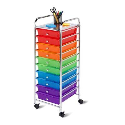 HoneyCanDo 10 Drawer Utility Cart