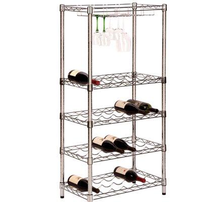 HoneyCanDo 24 Bottle Wine Rack