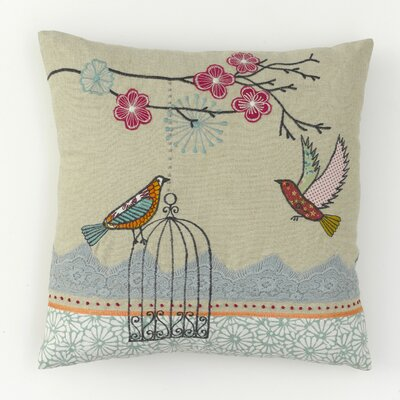 Chess Home Bird Cage Scatter Cushion