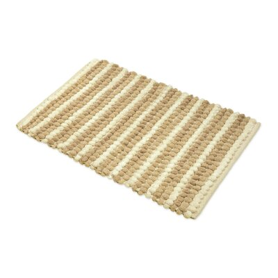 Chardin Pebble Ball Plush Bath Mat Color: Beige