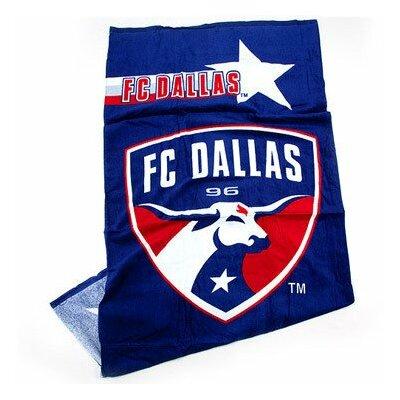 MLS 100% Cotton Beach Towel MLS Team: FC Dallas