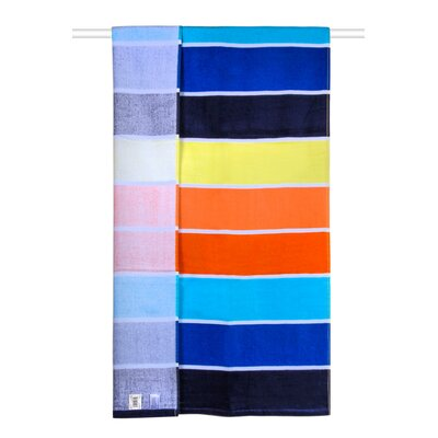 Rainbow Cabana 100% Cotton Beach Towel