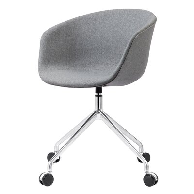 Desk Chair Back Color: Gray