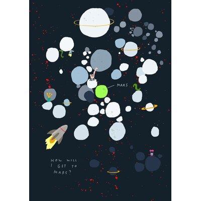 Hanna Melin Maze to Mars Graphic Art