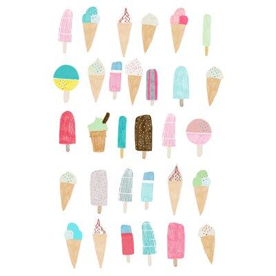 Hanna Melin Ice Cream Art Print