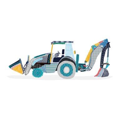 Hanna Melin Tractor Art Print