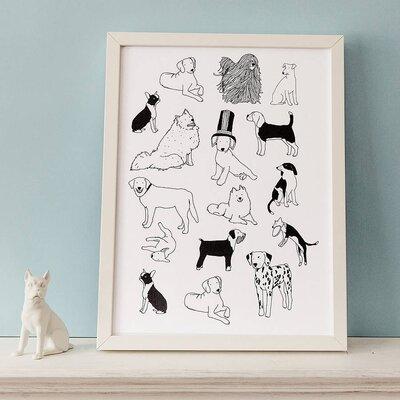 Hanna Melin Dog Framed Art Print