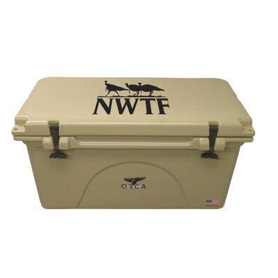 75 Qt. NWTF Premium Rotomolded Cooler Color: Tan