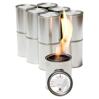 SunJel Pure Gel Fire Space Stainless Steel Fuel