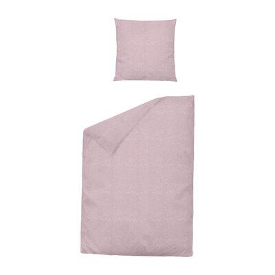 Dormisette Bettwäsche-Set Damast Ranke aus 100% reiner Baumwolle