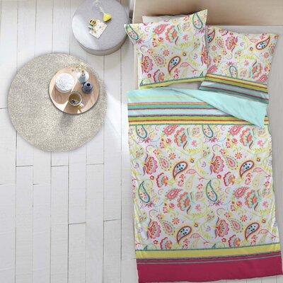 Dormisette Bettwäsche-Set Colour Rush aus 100% Mako-Baumwolle