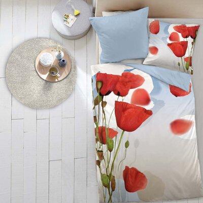 Dormisette Bettwäsche-Set TeaTime aus 100% Mako-Baumwolle