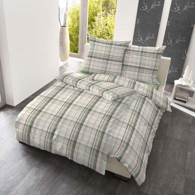 Dormisette Bettwäsche-Set Harmonie Karo aus 100& Baumwolle