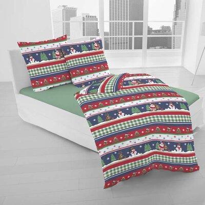 Dormisette Bettwäsche-Set Winterwelt aus 100% Baumwolle