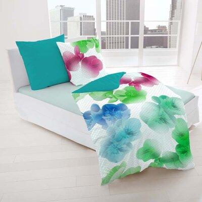 Dormisette Bettwäsche-Set Südsee aus 100% Mako-Baumwolle