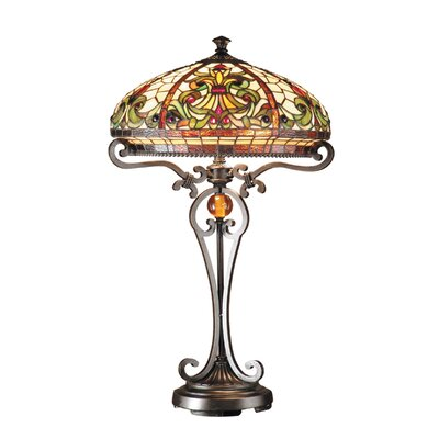 lighting lamps antique bronze table lamps dale tiffany sku dt1132. Black Bedroom Furniture Sets. Home Design Ideas