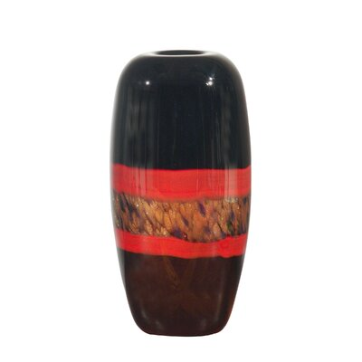 Dale Tiffany Ebony Broad Vase