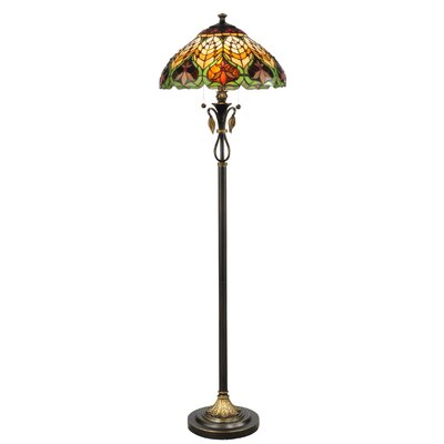 "Dale Tiffany Sir Henry 62"" Tiffany Floor Lamp"