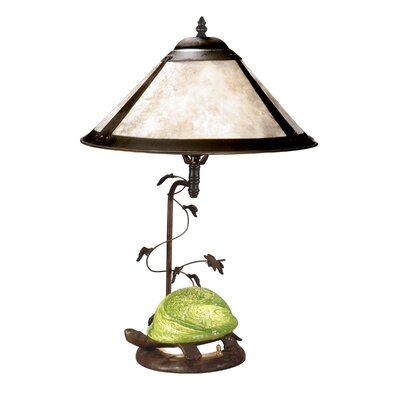 """Dale Tiffany Mica 22.75"""" H Table Lamp with Empire Shade"""