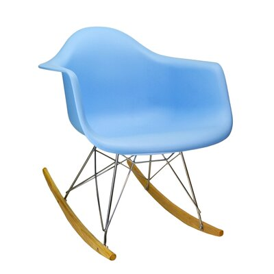 Rocking Chair Frame Color: Blue