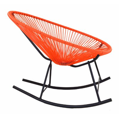 Acapulco Rocking Chair Color: Orange